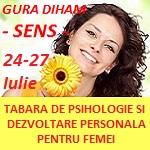 Tabara SENS - cel mai complex program de psihologie si dezvoltare personala dedicat femeilor